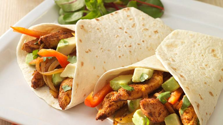 recipe image Chilli Chicken Fajitas