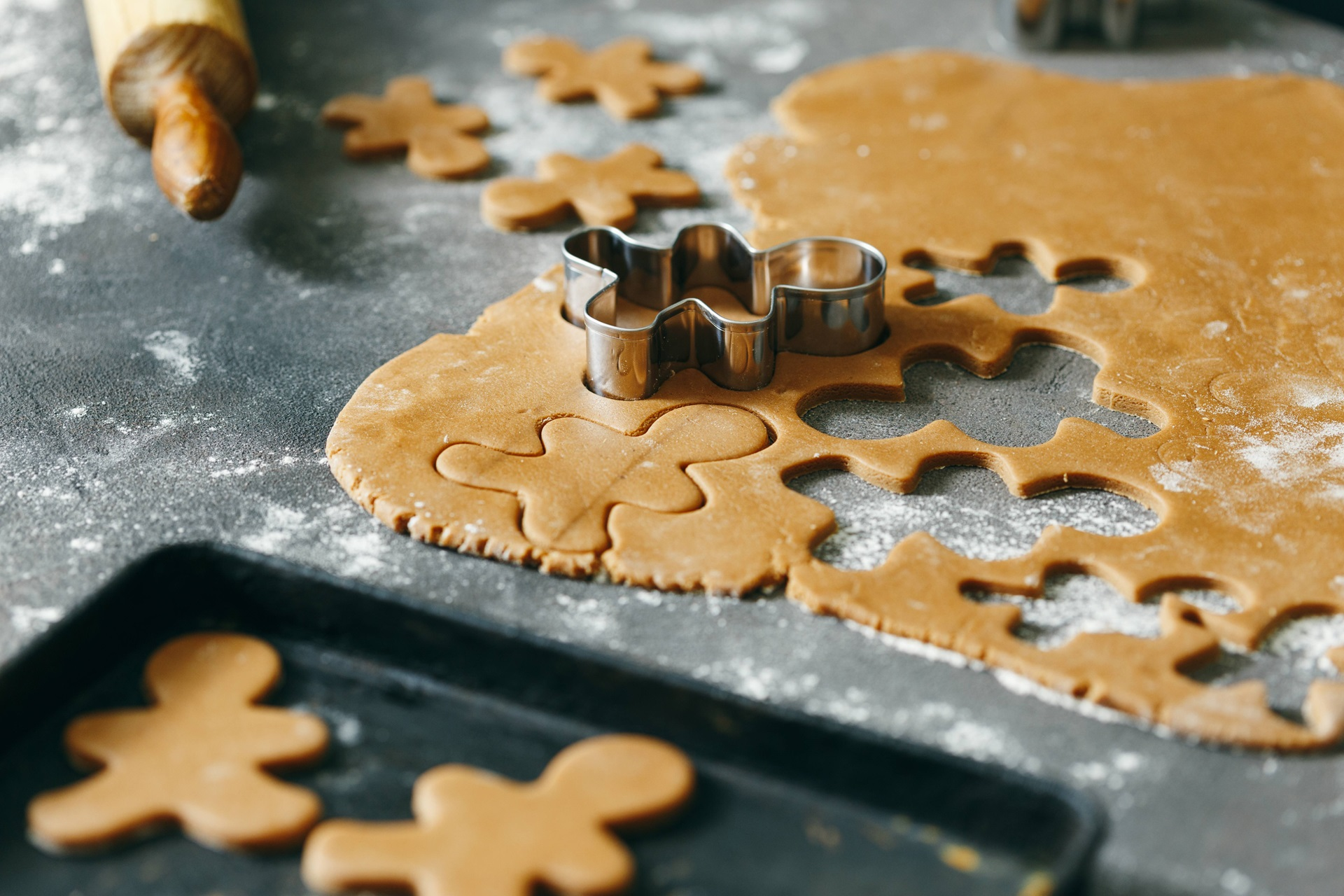 recipe image Christmas Gingerbread Biscuits
