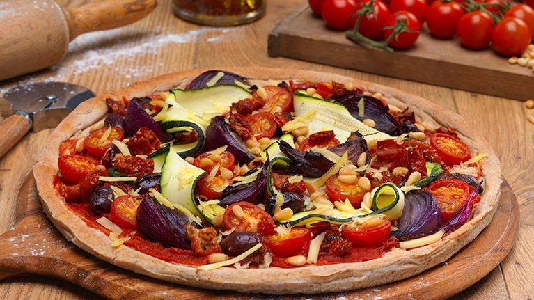 recipe image Vegetable Pizza