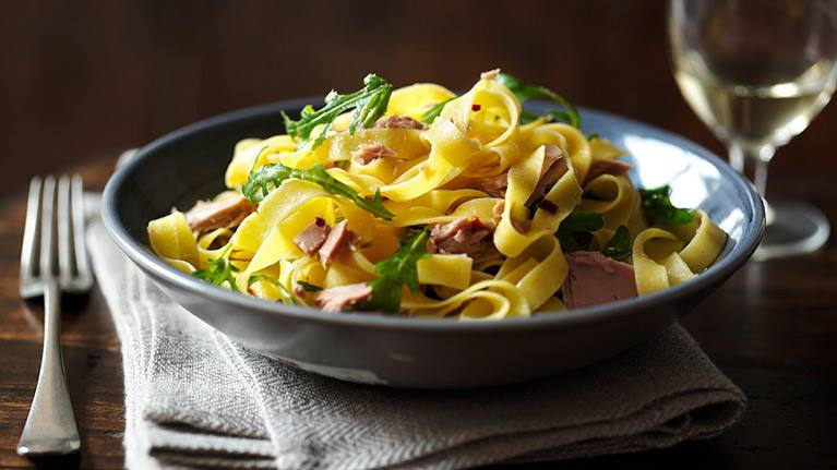recipe image Pasta with Tuna, Rocket and Chilli