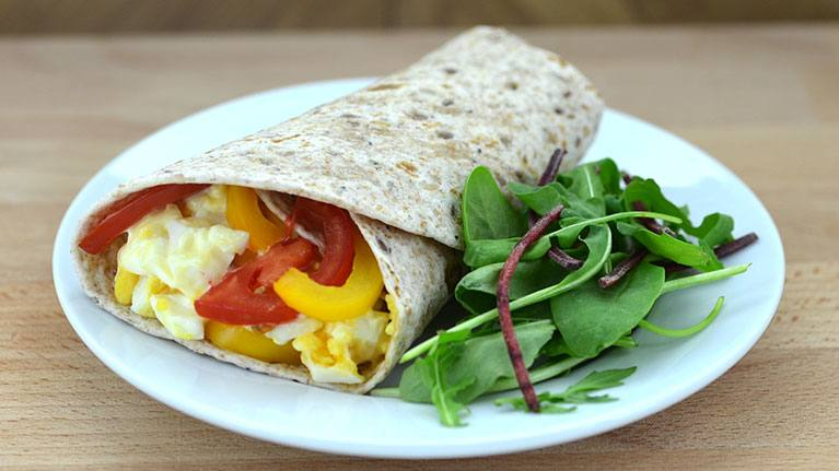 recipe image Egg, Mayo and Pepper Wrap