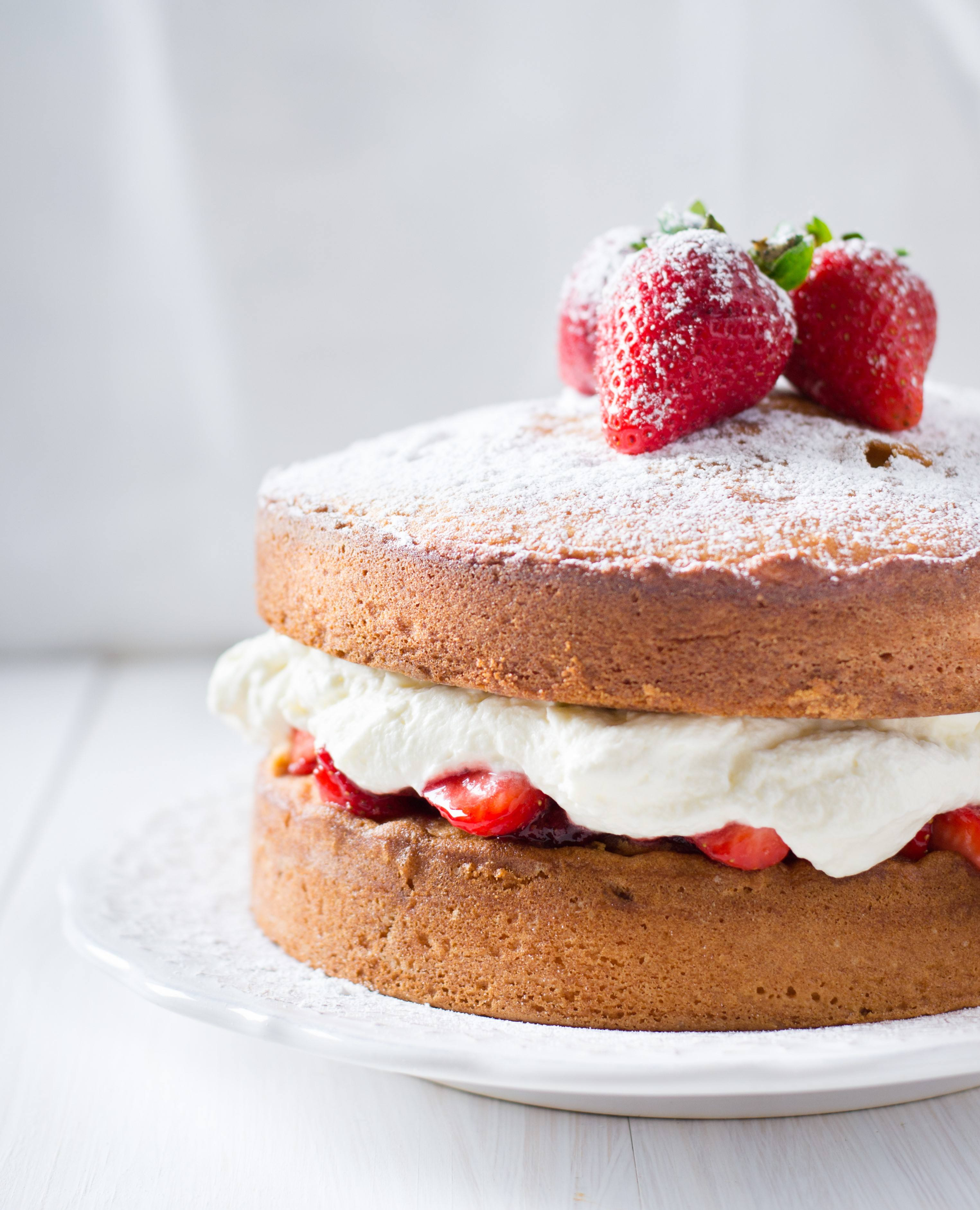 recipe image Ultimate Vegan Victoria Sponge Cake
