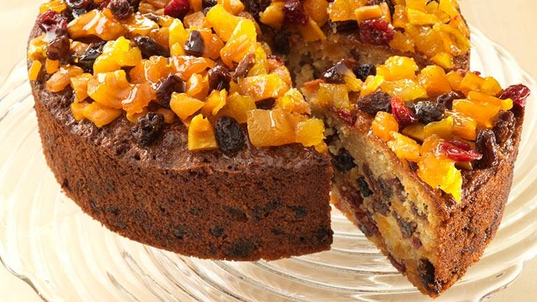 recipe image Tropical Tea Fruit Cake