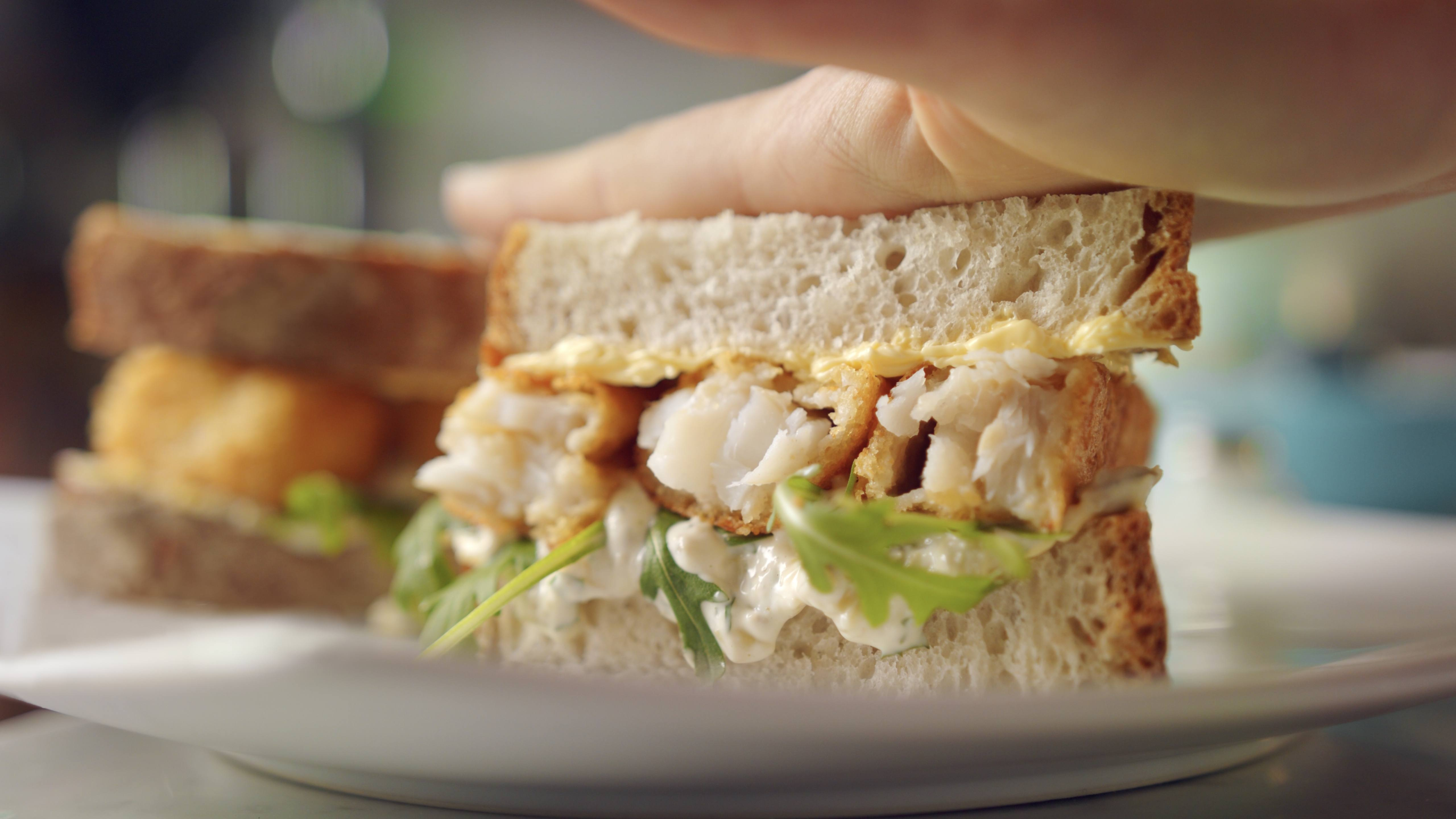 recipe image Fish Finger Sandwich